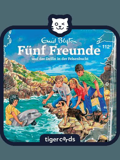 tigercard - Fünf Freunde - Folge 112: Der Delfin in der Felsenbucht
