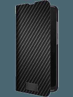 BlackRock Booklet Flex Carbon Galaxy A71 (schwarz) Vorderseite