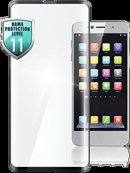 Hama 3D-Full-Screen-Schutzglas für Samsung Galaxy A20e Vorderseite