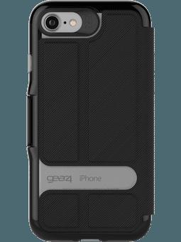 GEAR4 D3O Oxford für iPhone 6/6s/7/8 schwarz Vorderseite