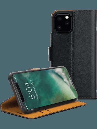 XQISIT Slim Wallet iPhone 11 Pro (schwarz)