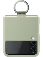 Samsung EF-PF711 Silicone Cover mit Ring Galaxy Z Flip 3 (olive)