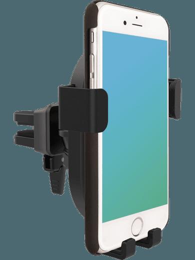 freenet Basics Wireless Car Charger + Halterung (schwarz)