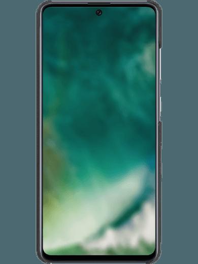 XQISIT Stoff-Case Samsung Galaxy A51 blau