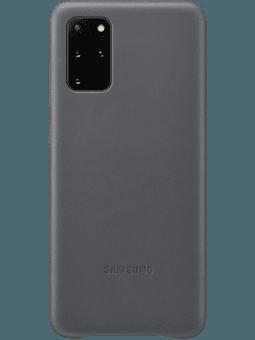 Samsung EF-VG985 Leather-Cover Samsung Galaxy S20+ (grau) Vorderseite