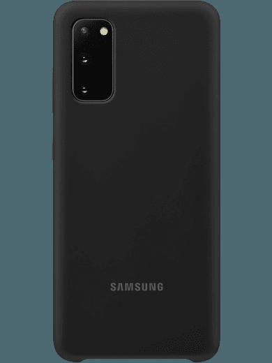 Samsung EF-PG980 Silicone-Cover Samsung Galaxy S20 (schwarz)