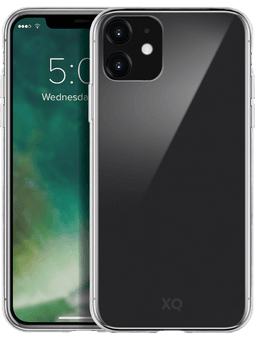 XQISIT Phantom Glass Case iPhone 11 (transparent) Vorderseite