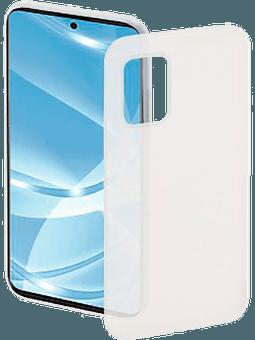 Hama Cover Ultra Slim Flexible Samsung Galaxy A71 (weiß-transparent) Vorderseite
