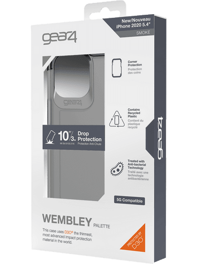 GEAR4 Wembley iPhone 12 mini (schwarz)