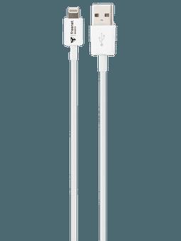 freenet Basics Lade- & Datenkabel Lightning 100cm Weiß Vorderseite