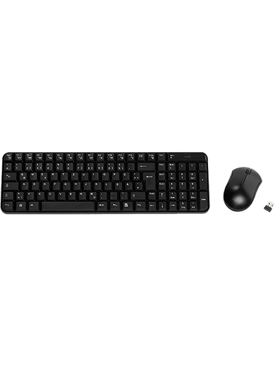 Vivanco Wireless Desktop Set (Tastatur & Maus)