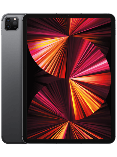 Apple iPad Pro 11,0 Cellular (2021) 128GB Space Grau