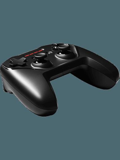 SteelSeries Nimbus+ Controller und iPhone-Halterung (schwarz)