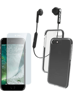 SPARSET für iPhone 6/6s/7/8: Headset + D3O-Headset + Displayschutzglas
