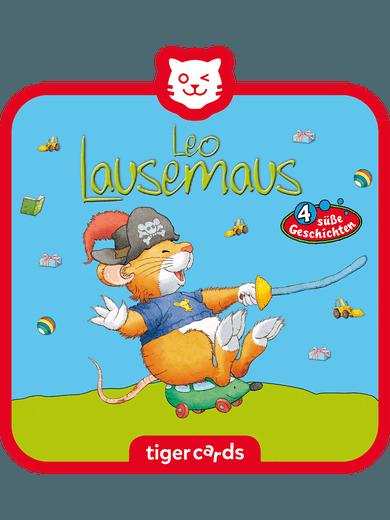 tigercard - Leo Lausemaus - Folge 10: Will nicht draußen spielen & 3 weitere Geschichten