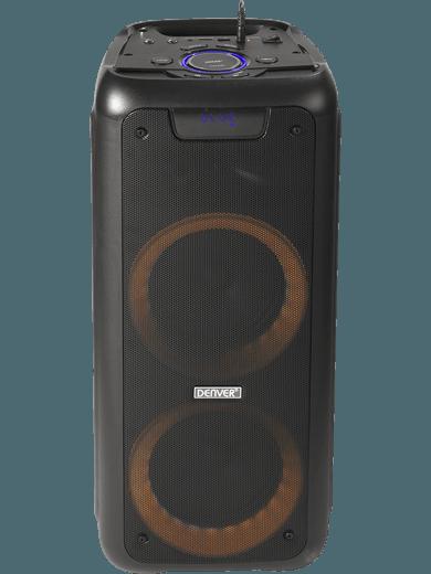 DENVER BPS-350 Party Speaker mit FM-Radio (schwarz)