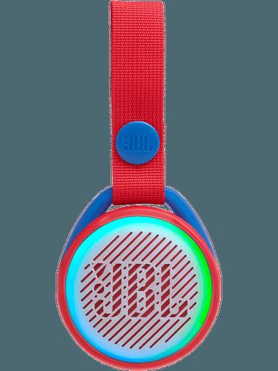 JBL JR POP tragbarer Lautsprecher für Kinder (rot/blau)