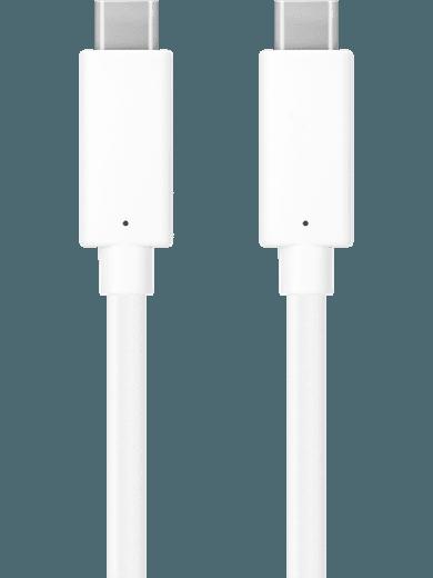 freenet Basics Kabel USB-C auf USB-C Kabel (1m, weiß)