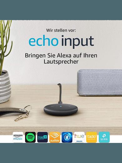 Amazon Echo Input schwarz