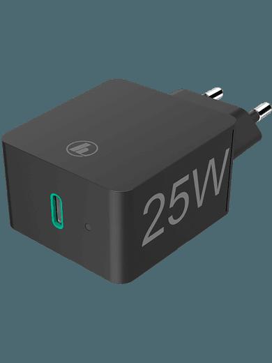 Hama Ladegerät Power Delivery (PD)/Qualcomm® 25 Watt (schwarz)