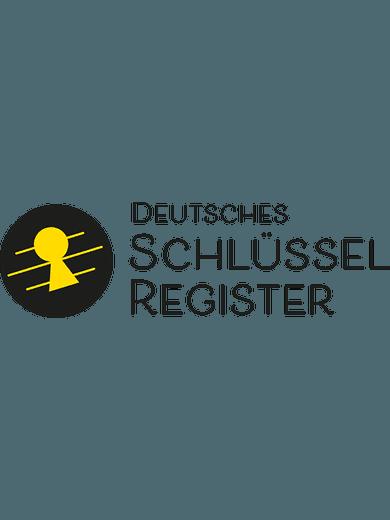 Deutsches Schlüsselregister (2er-Pack)