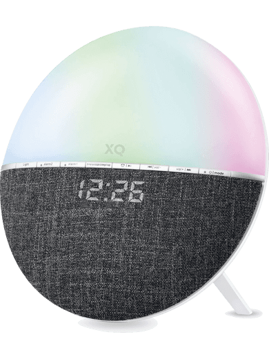 XQISIT Alarm Clock Sunrise grau