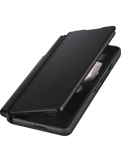 Samsung EF-FF92P Flip Cover mit S-Pen Galaxy Z Fold 3 (schwarz)
