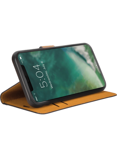 XQISIT Slim Wallet iPhone 11 Pro Max (schwarz)